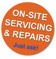 servicing enlargers copy stands